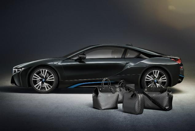 Louis Vuitton rolls out custom luggage to match the $136000 BMW i8 plug-in …