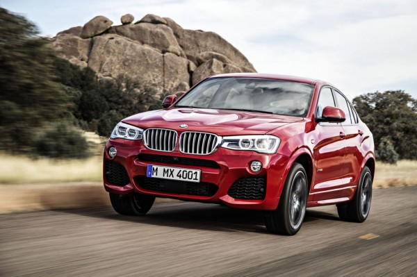 2015 BMW X4 slides in on the diagonal starting at $45625 in the US