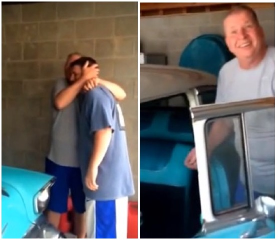 8-Year-Old Promised Dad a '57 Chevy by His 57th Birthday. This Is What …