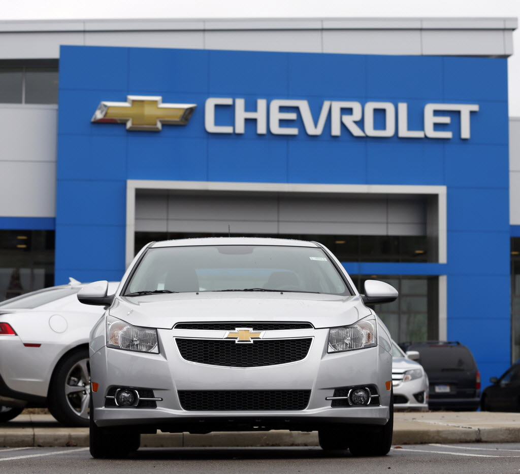 GM suspends sale of 2013-14 Chevrolet Cruze for potential airbag glitch