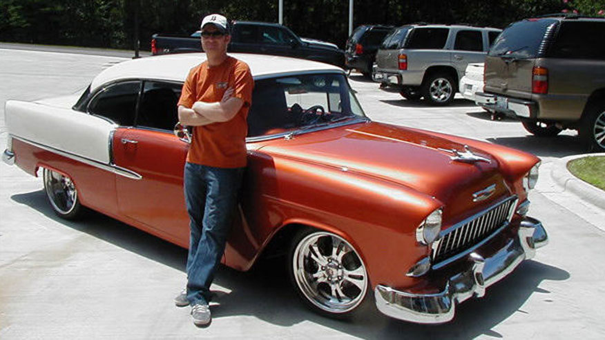 Dale Jr. selling his 'Funky' classic Chevy
