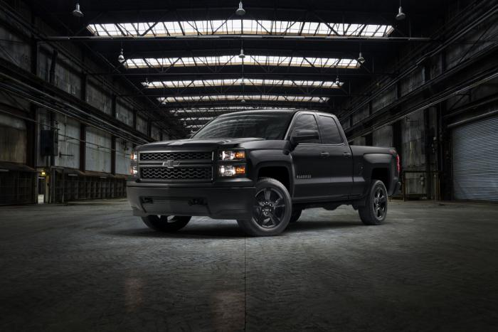 'Black Out' work truck is latest Chevy Silverado special
