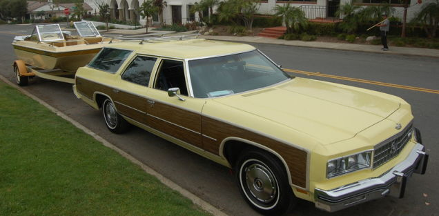 For $34800, This 1976 Chevy Caprice Estate Comes With A Boat