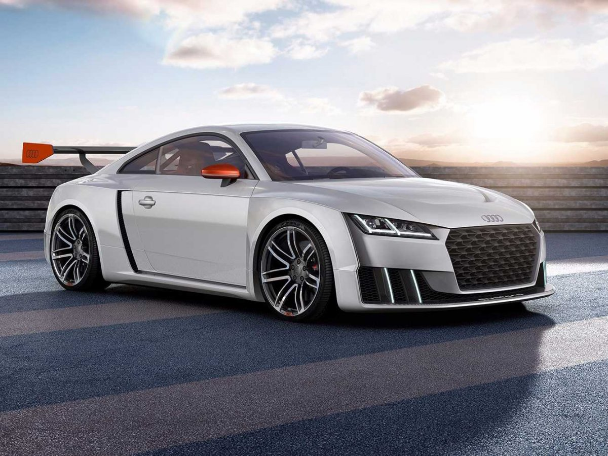 This 600-horsepower Audi TT concept car is 1000 miles from cute