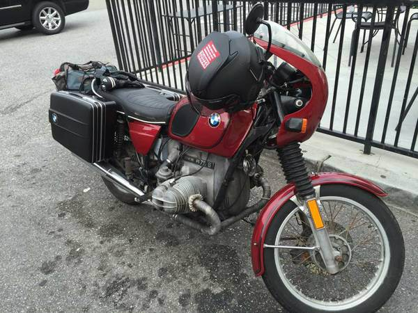 "For Sale: 1975 BMW R75/6, ""likely haunted"""