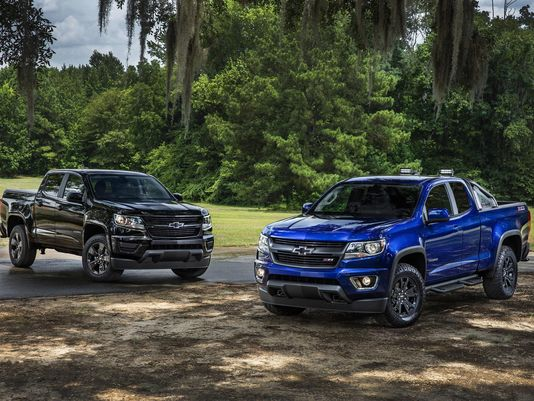 Chevy offers 2 special editions for '16 Colorado