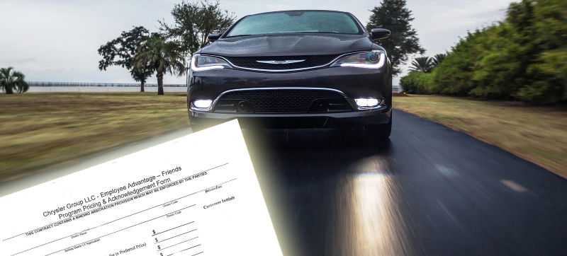 Don't Get Screwed By Chrysler For $200