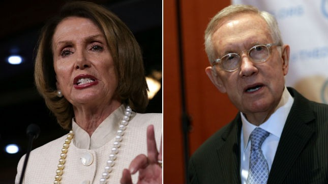 Reid, Pelosi pushing for repeal of ObamaCare's 'Cadillac tax'