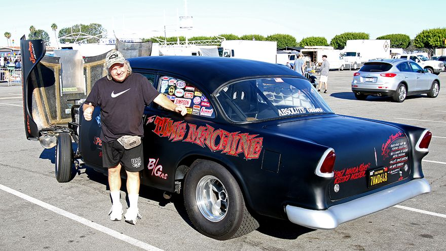 Just Cool Cars: '55 Chevy honors Michigan town