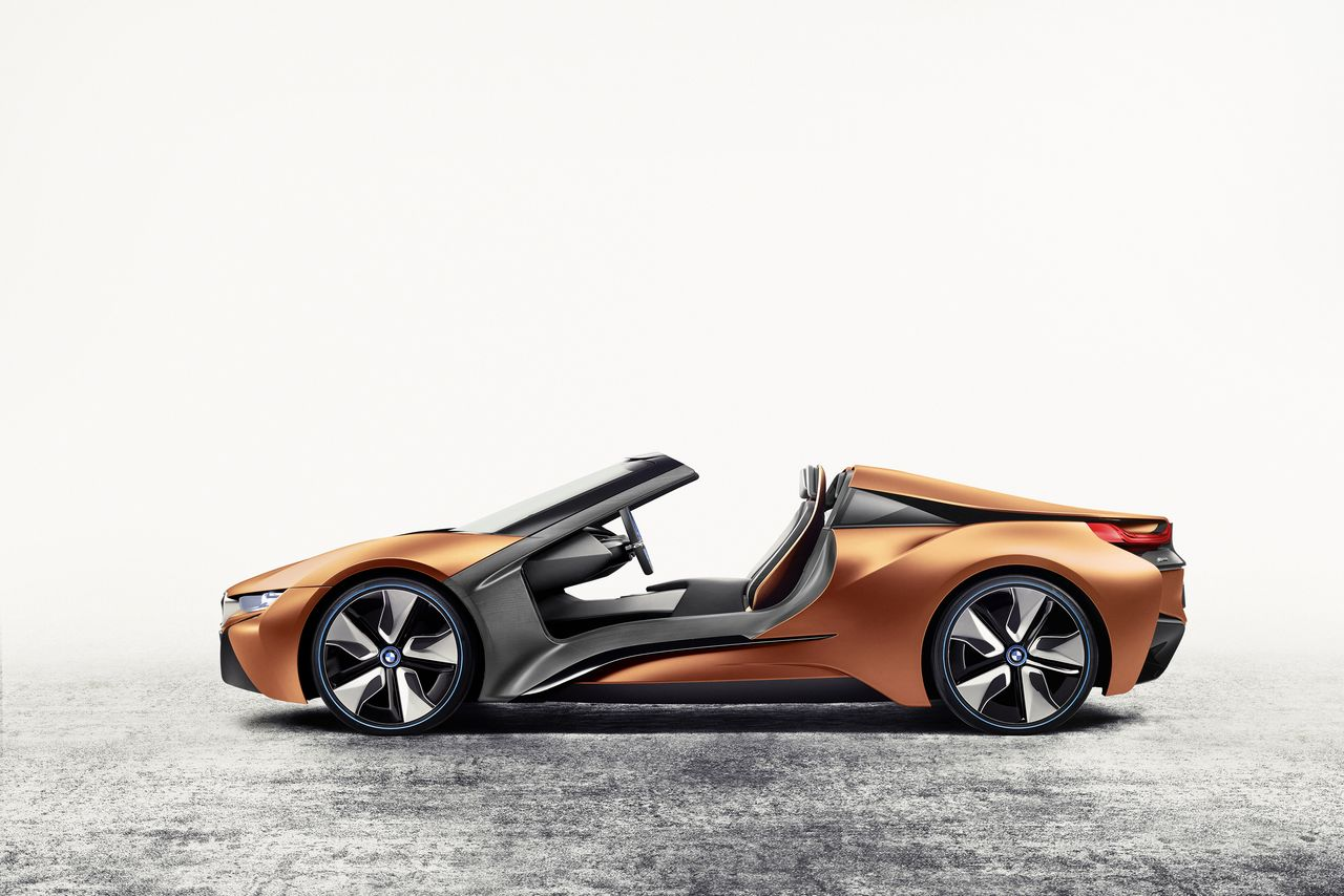 BMW's badass new i8 Spyder concept is packed with tech you can't have yet