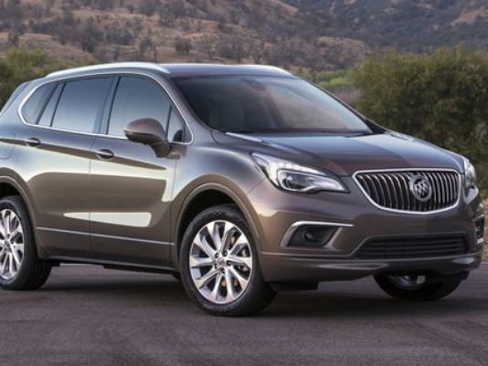 Buick shows photos of Chinese-made Envision SUV for US