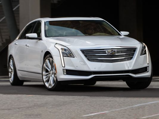 Review: Cadillac's big CT6 sedan aims for BMW, Mercedes