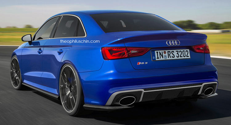 Audi RS3 Sedan To Enter Production With 400HP?
