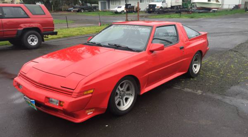 For $5200, Your Driveway Could Be This 1988 Chrysler Conquest Widebody's Next …