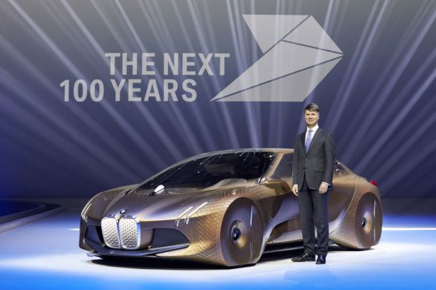 BMW celebrates 100th birthday by showing off a wild concept car